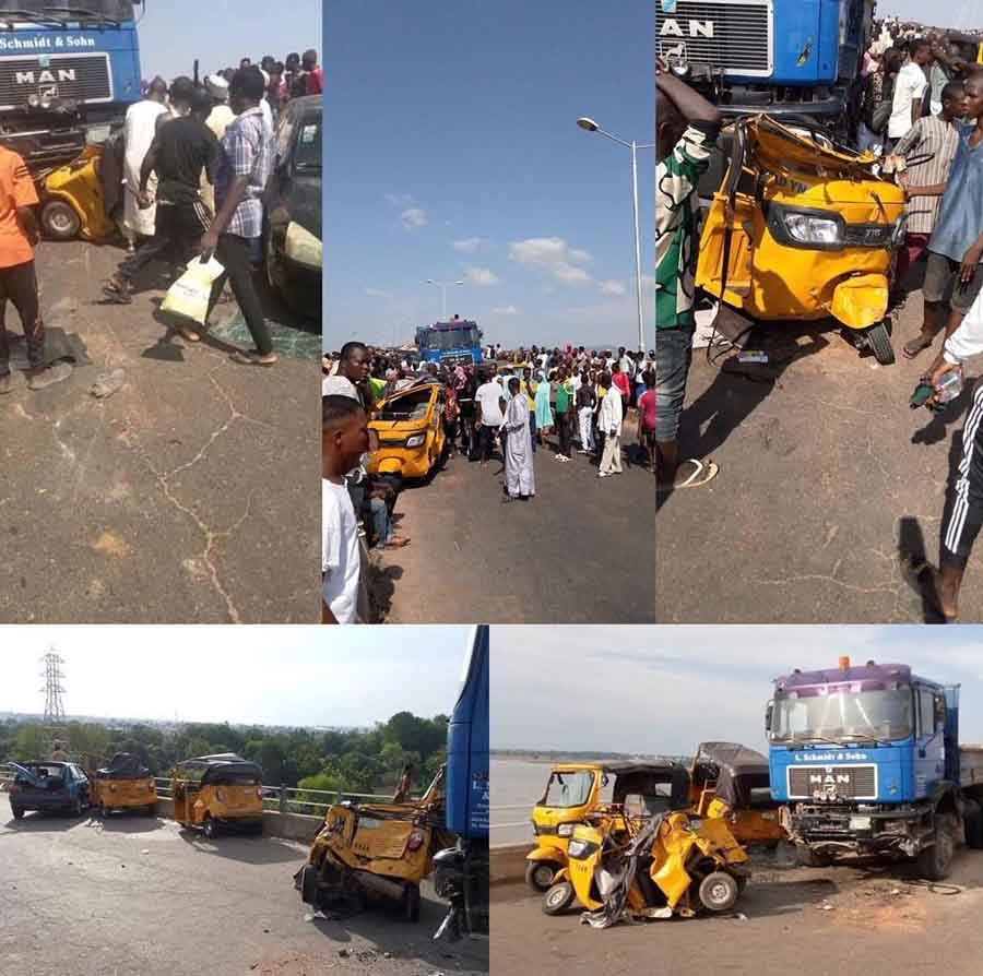 Trailer Crushes 20 People To Death While Being Chased By Bribe Seeking Policemen In Yola 2
