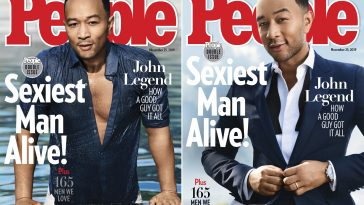 John Legend Is People's Sexiest Man Alive For 2019... And He's Excited But A Little Scared 5