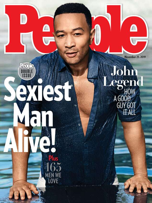 John Legend Is People's Sexiest Man Alive For 2019... And He's Excited But A Little Scared 2