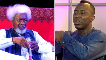 """""""Release Sowore And Stop Embarrassing Nigeria Before The World"""" - Wole Soyinka Tells DSS 5"""