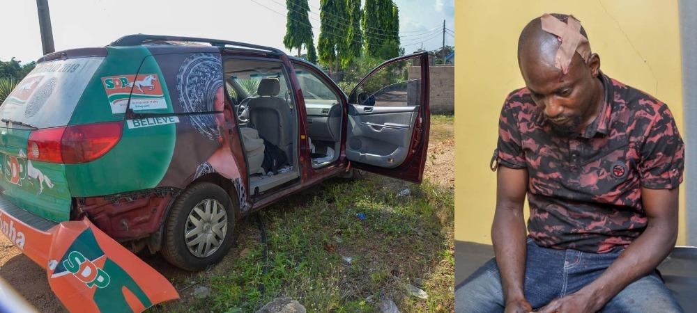 Kogi Guber: Driver Of SDP Candidate Stabbed By Gov Yahaya Bello's Thugs - Dino Melaye 1
