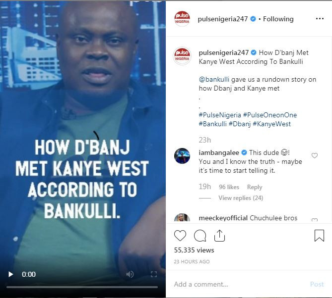 D'banj And His Former Manager, Bankuli Fights Dirty On Instagram Over Kanye West 2