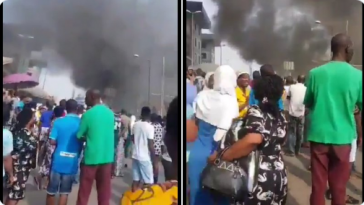 Breaking News: Pandemonium As Fire Breaks Out At Tejuosho Market In Lagos [Video] 7