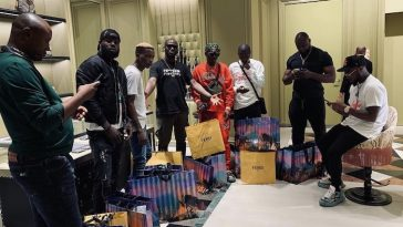 Davido Takes Zlatan, Lil Frosh And All His Crew Members On Shopping Spree In Dubai [Video] 3