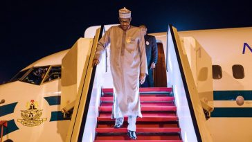 President Buhari Returns To Nigeria After 2 Weeks 'Private Visit' In London [Photos/Video] 5