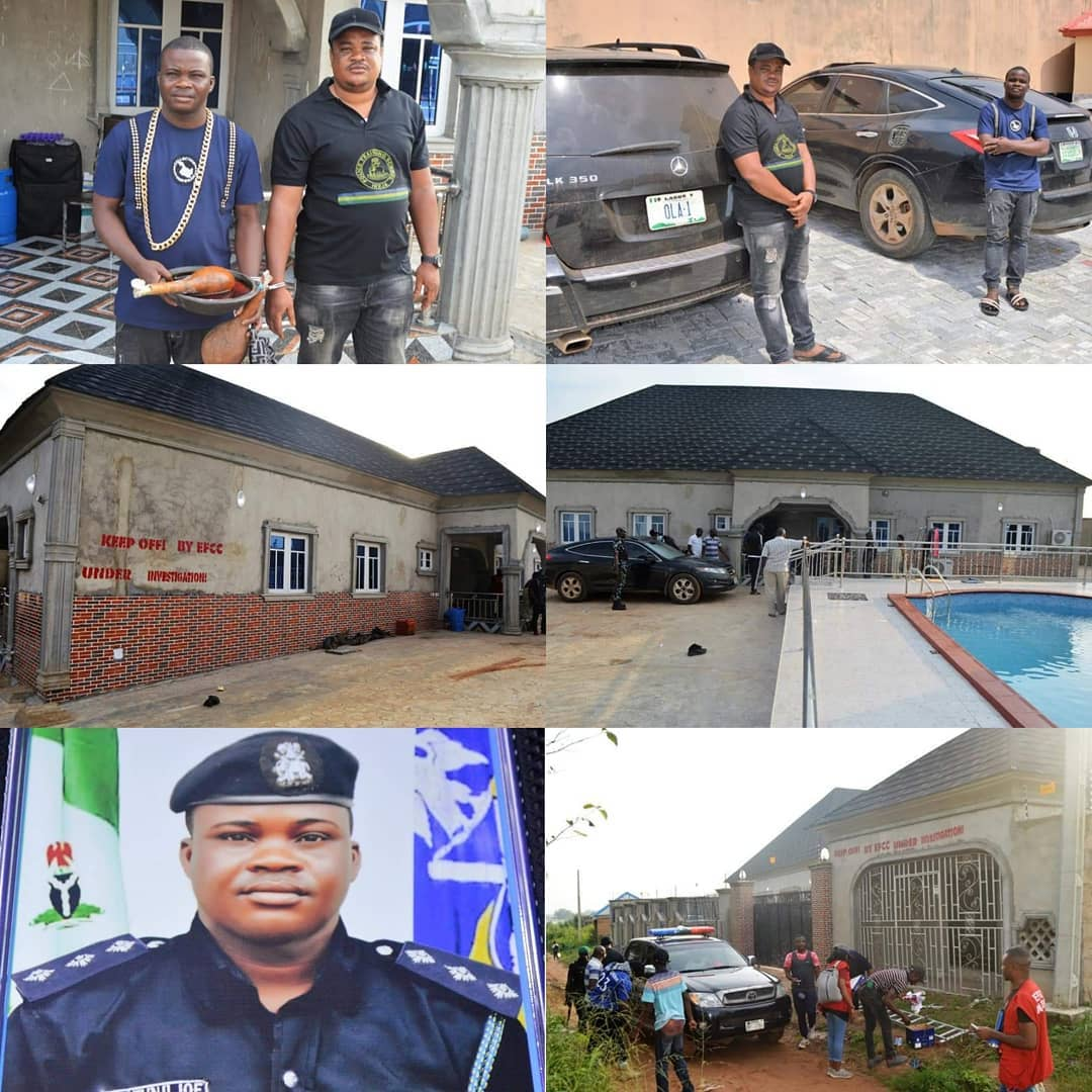 Two Blood Brothers Arrested For Defrauding 'Yahoo Boys' Using EFCC's Name [Photos] 2