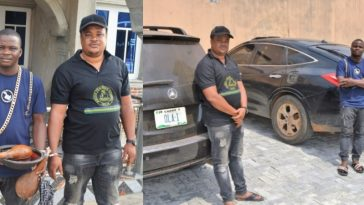 Two Blood Brothers Arrested For Defrauding 'Yahoo Boys' Using EFCC's Name [Photos] 3