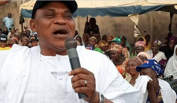 """Kogi Guber: """"Election Peaceful So Far"""" - PDP Candidate, Musa Wada Says As He Casts His Vote 1"""