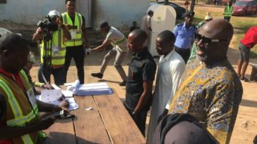 Kogi Election: Thugs Attacks Dino Melaye's Polling Unit, Hijacks Electoral Materials 3