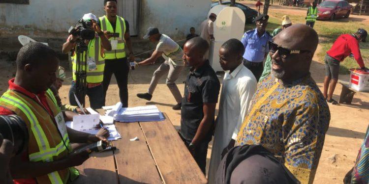 Kogi Election: Thugs Attacks Dino Melaye's Polling Unit, Hijacks Electoral Materials 1