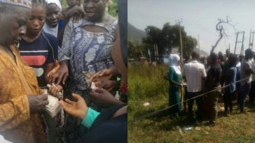 Kogi Election: Ongoing Vote Buying In Lokoja By Suspected APC Agents [Photos] 7