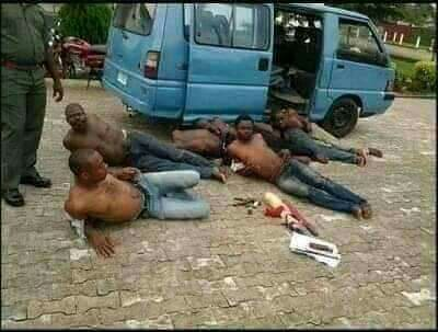 Suspected APC Thugs Arrested With Weapons On Their Way To Disrupt Kogi Election [Photos] 2