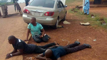 Suspected APC Thugs Arrested With Weapons On Their Way To Disrupt Kogi Election [Photos] 7