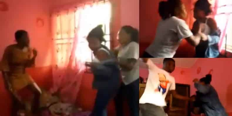 FUTA Suspends Female Students For Brutalizing Colleague Who Called Them 'Runs Girls' [Video] 1