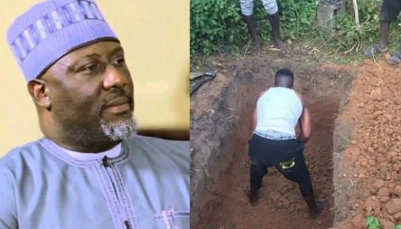 Dino Melaye Buries His Nephew Who Was Shot Dead By APC Thugs During Kogi Election [Video] 1