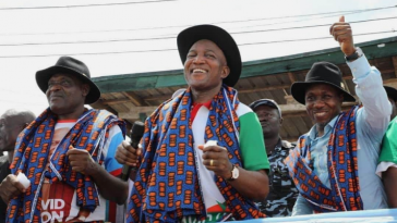 Wild Jubilation Among Residents As APC's David Lyon Wins Bayelsa Governorship Election 15