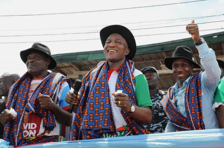Wild Jubilation Among Residents As APC's David Lyon Wins Bayelsa Governorship Election 1