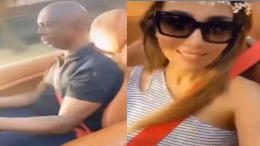 Ned Nwoko Snubs Regina Daniels, Spotted Cruising Around With His Moroccan Wife [Video] 4