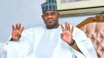Breaking News: INEC Declares APC's Yahaya Bello Winner Of Kogi Governorship Election 4