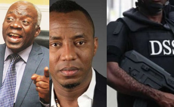 DSS Apologised To Justice Ojukwu Over Court Invasion To Rearrest Sowore - Femi Falana 1