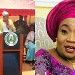 Watch As Nasarawa First Lady Struggles To Read Her Prepared Speech In English [Video] 28