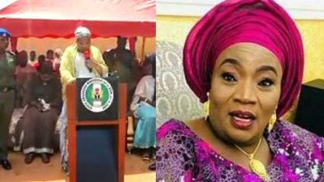 Watch As Nasarawa First Lady Struggles To Read Her Prepared Speech In English [Video] 5
