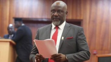 Dino Melaye Presents 21 Video Clips To INEC, Vows Nobody Will Take His Seat In Senate 5
