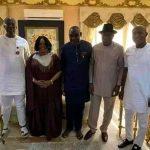 New Bayelsa APC Governor, David Lyon Visits Goodluck Jonathan And His Wife [Photos] 29