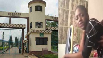 Babcock University Expels Female Student Seen On Viral S£x Video With Former Student 2