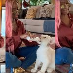 DJ Cuppy Becomes A Mum In Dubai, Introduces Her First Born 'Baby Lion' To The World [Photos/Video] 7