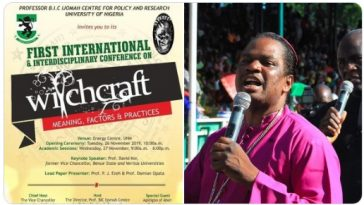 Bishop Sam Zuga Vows To Stop UNN From Hosting 'First International Witchcraft Conference' 5