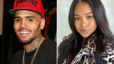 Chris Brown Welcomes Baby Boy With Model, Ammika Harris Who Is Now His Ex-Girlfriend 2