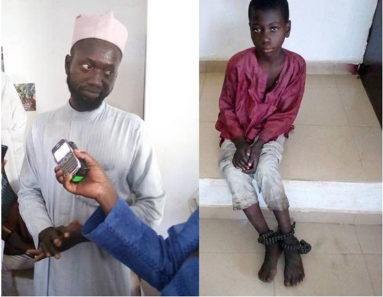 Father Chains And Locks Up His 10-Year-Old Son Over Refusal To Attend School In Niger 2
