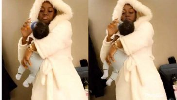 Chioma Shares Cute Video Of Herself Feeding Her Son And Dancing To Davido's New Song 8