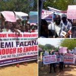 Nigerians Protest In Abuja Against Femi Falana For Criticising Security Agencies [Photos] 27