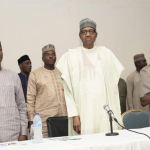 APC Crisis: Buhari Reportedly Walks Out On Oshiomhole As He Escapes Impeachment 27