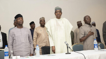 APC Crisis: Buhari Reportedly Walks Out On Oshiomhole As He Escapes Impeachment 12