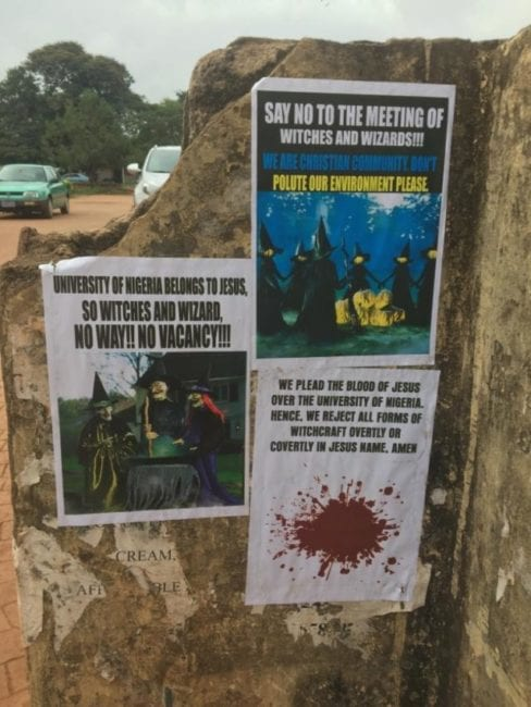 """""""Christians Cannot Stop Our Witchcraft Conference"""" - Organizer Says As UNN Cancels Venue 2"""