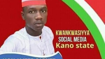 Viral Poster Of Young Man Contesting For 'Women Leader Position' In Kano State [Photo] 1