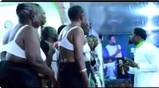 Pastor Assembles Half-Naked Women To Pray For Him Inside His Church In Ondo [Video] 1