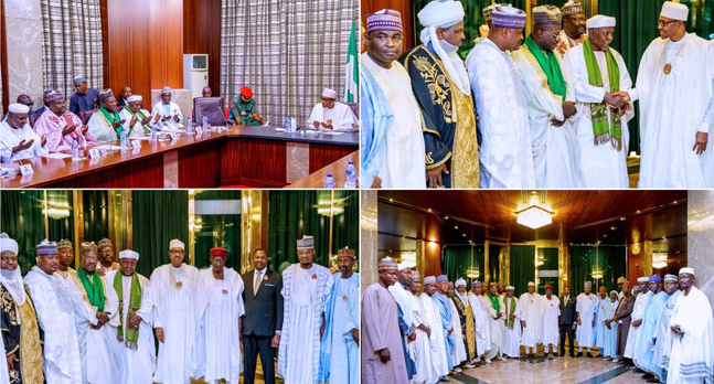 I Will Not Allow Religion Or Ethnic Groups To Divide Nigeria - President Buhari 1