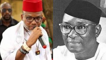 """Nnamdi Azikiwe Started The Problems Igbos Are Suffering Today"" – Nnamdi Kanu Alleges 2"