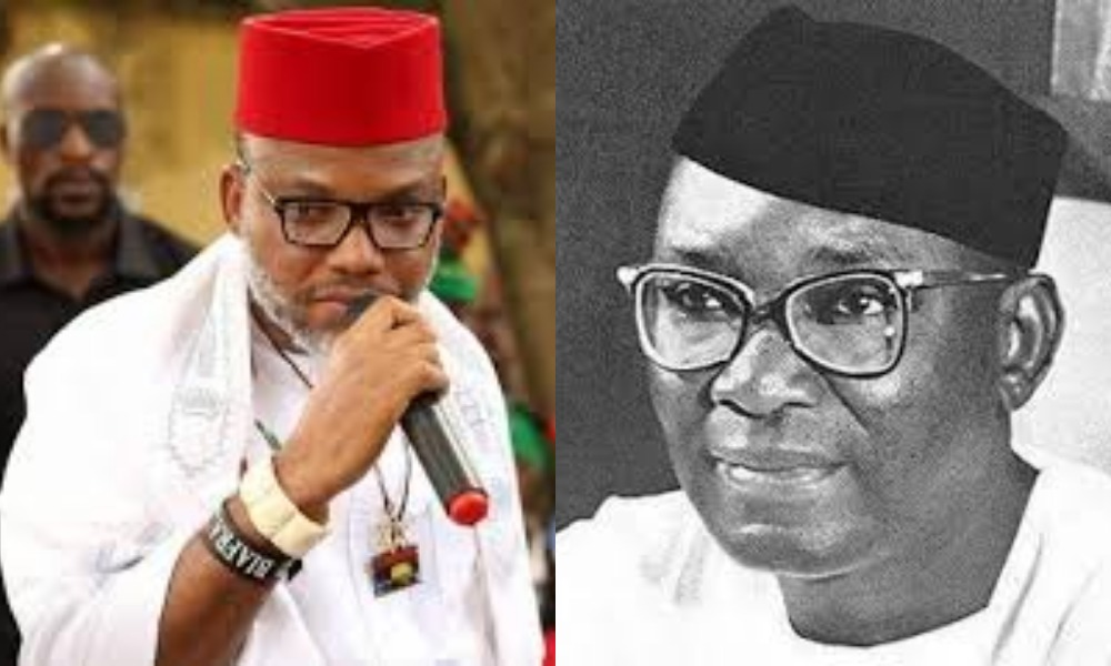 """Nnamdi Azikiwe Started The Problems Igbos Are Suffering Today"" – Nnamdi Kanu Alleges 1"