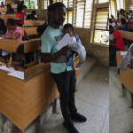 University Of Calabar Lecturer Helps His Student Babysit Her Twins During Exams [Photos] 27
