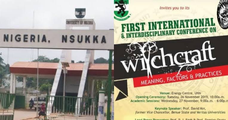 Catholic Priest Offers Opening Prayer At UNN Witchcraft Conference, Despite Opposition By Christians 1