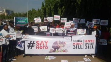 Protesters Storms National Assembly Over Social Media Bill, And Omoyele Sowole [Video] 3