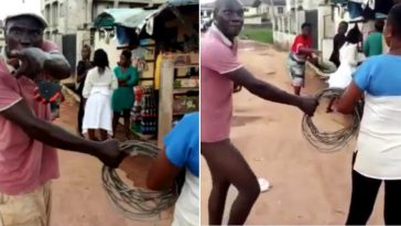 Angry Man Pulls Down His Pants, Threatens To Rape A Female PHCN Staff In Public [Video] 4