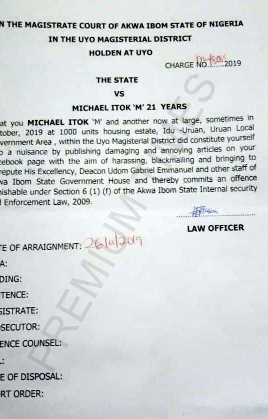 Banker Sent To Prison Over 'Annoying Facebook Posts' Against Governor Udom Of Akwa Ibom 2