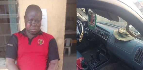 Anglican Church Knight Leads Robbery Gang To Steal Batteries From MTN Mast In Lagos 1