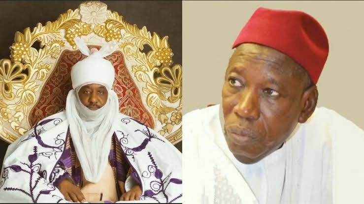 Governor Ganduje Reportedly Demolishes Emir Sanusi's N250 Million Property In Kano 1
